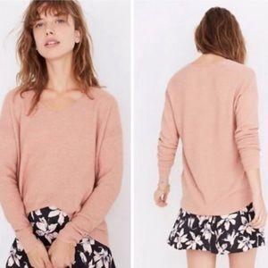 🌈 Madewell Kimball Merino Wool Blend Sweater